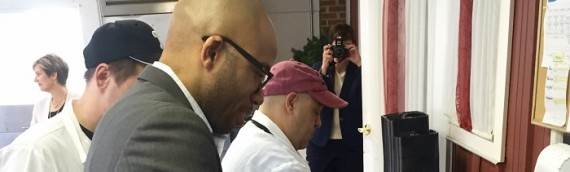 Assemblyman participates in Meals on Wheels Champions for Meals Day
