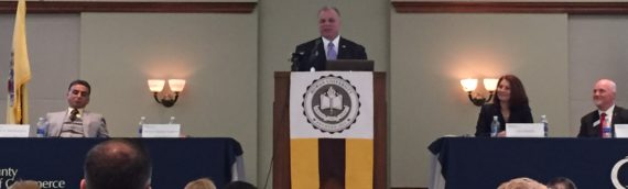 Steve Sweeney addresses County Chamber Breakfast