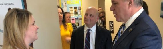 Senate President Sweeney Tours Oaks Integrated Care In Cherry Hill